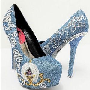 Cinderella Happily Ever After Heels Size 8